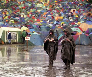Rainy Weather, Glastonbury Festival 2014
